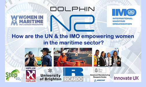 How are the UN & the IMO empowering women in the maritime sector?