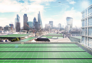 Arborea in collaboration with Imperial College London, are spearheading their 'BioSolar Leaf' technology to improve air quality.